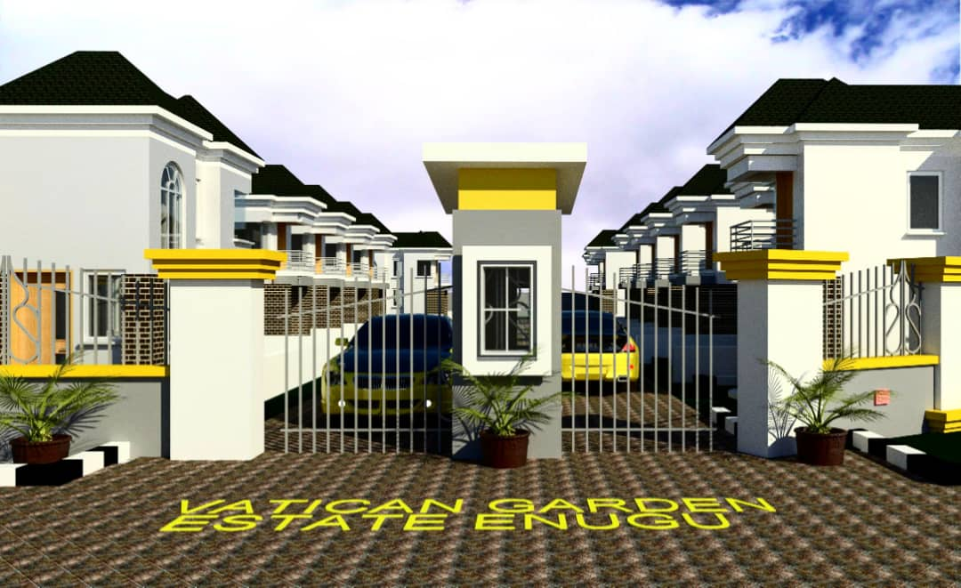 Vatican Garden Estate Enugu Gate House